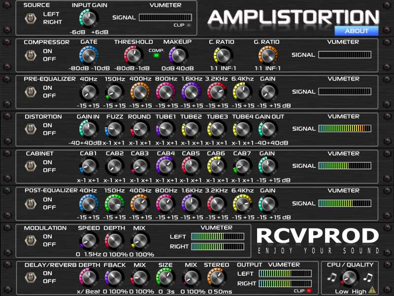 RCV PROD Amplistortion