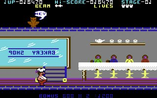 Comic Bakery C64