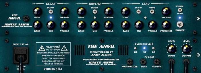 Ignite Amps Anvil